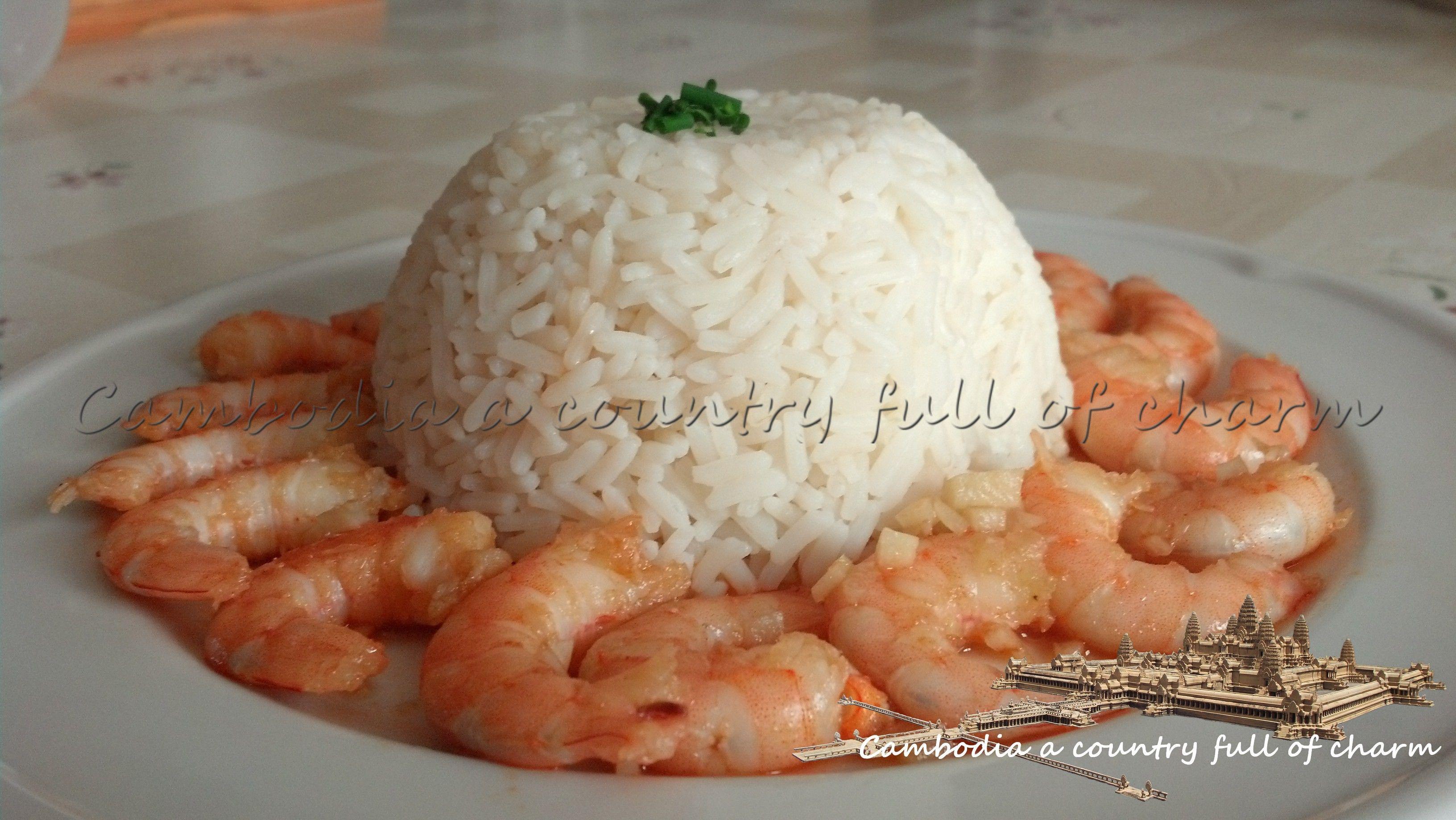 pakon kho matek ou crevettes caramélisées (recette de cuisine