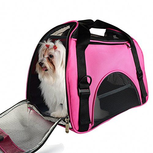 All Cart Pet Carrier Airline Approved Travel Tote Bag Pets