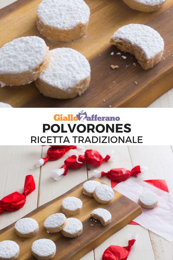Biscotti Di Natale Ricette Giallo Zafferano.Polvorones