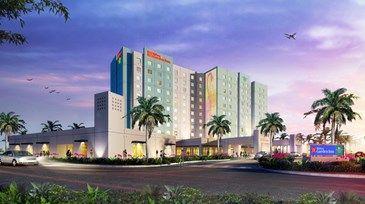 Dual-Branded Hilton Hotel