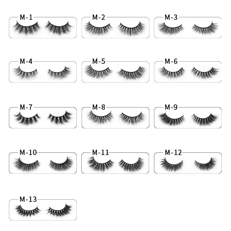 Wholesale Lashes Vendors Supply Natural Looking 3d Mink Eyelashes