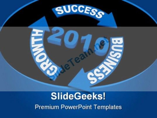 business growth success powerpoint template 0810 powerpoint