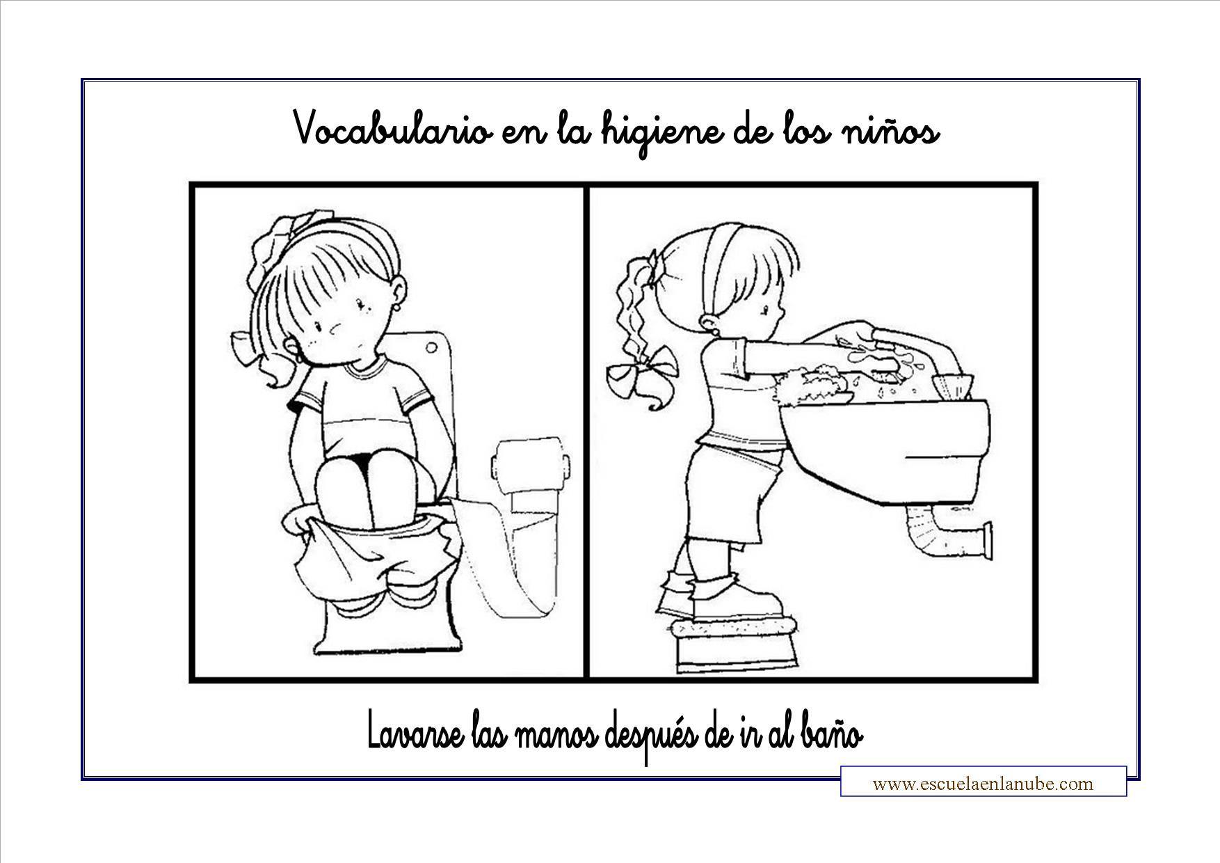 La Higiene Infantil Fichas Para Trabajar Ideas Para El