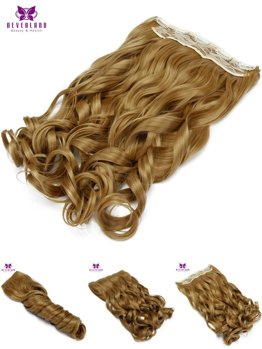 Visit To Buy Neverland 22 55cm 5clips 27 Curly Women Synthetic