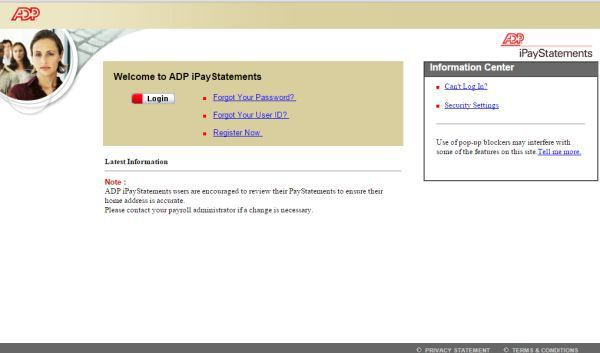 ADP iPay Login to View and Print Pay Stubs | Technology | Self service