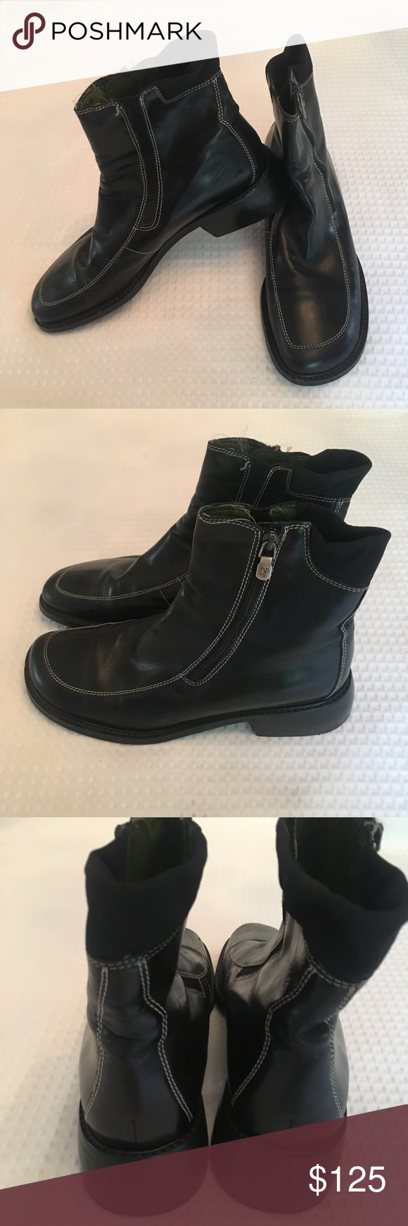 a5f3bf67e03 Donald J. Pliner Wide Toe Bootie Super comfy walking shoe with wide toe  area. Like new. Barely worn. Kept nicely polished. Donald J. Pliner Shoes  Ankle ...