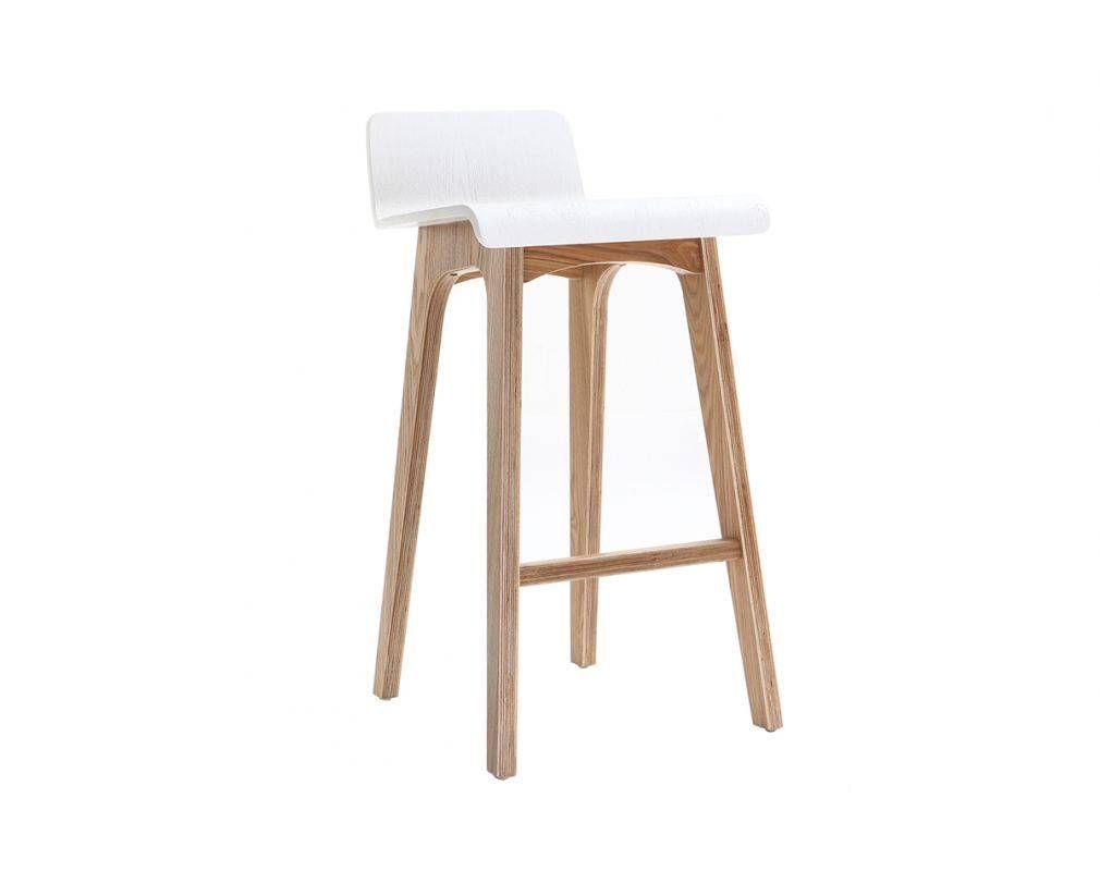 en et 65 bar cm 2019 de blanc BALTIK scandinave bois Chaise N0w8nvm