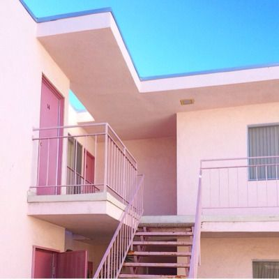 Suddenly Baby Pink Aesthetic Architecture Blue Aesthetic