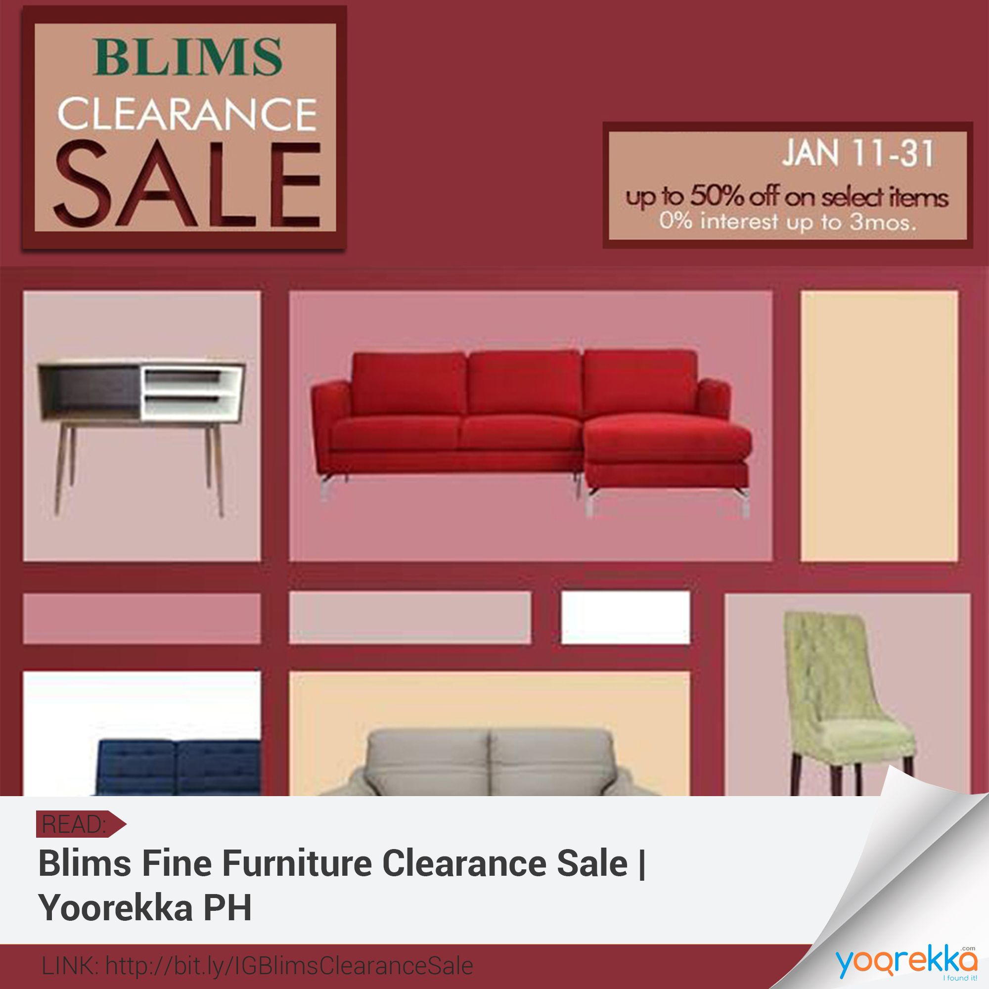 Blims Fine Furniture Clearance Sale Up To 50 Off On Selected