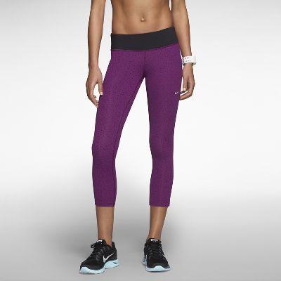 piękno wyprzedaż hurtowa jakość wykonania Nike Epic Lux Printed Women's Running Crops   Fashion ...