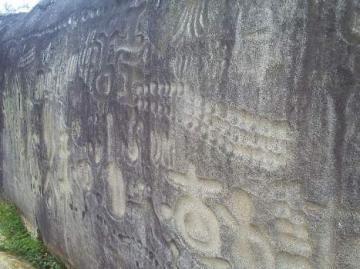 El mensaje cifrado de la Pedra do Ingá