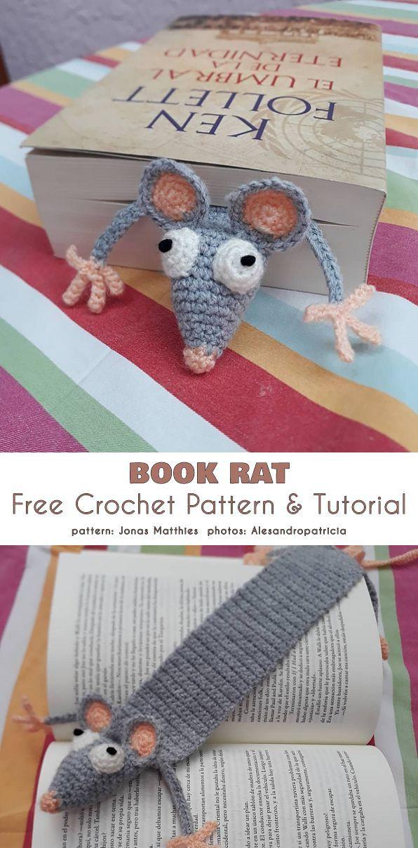 Cute Tiny Mice Crochet Patterns #crochetpatterns