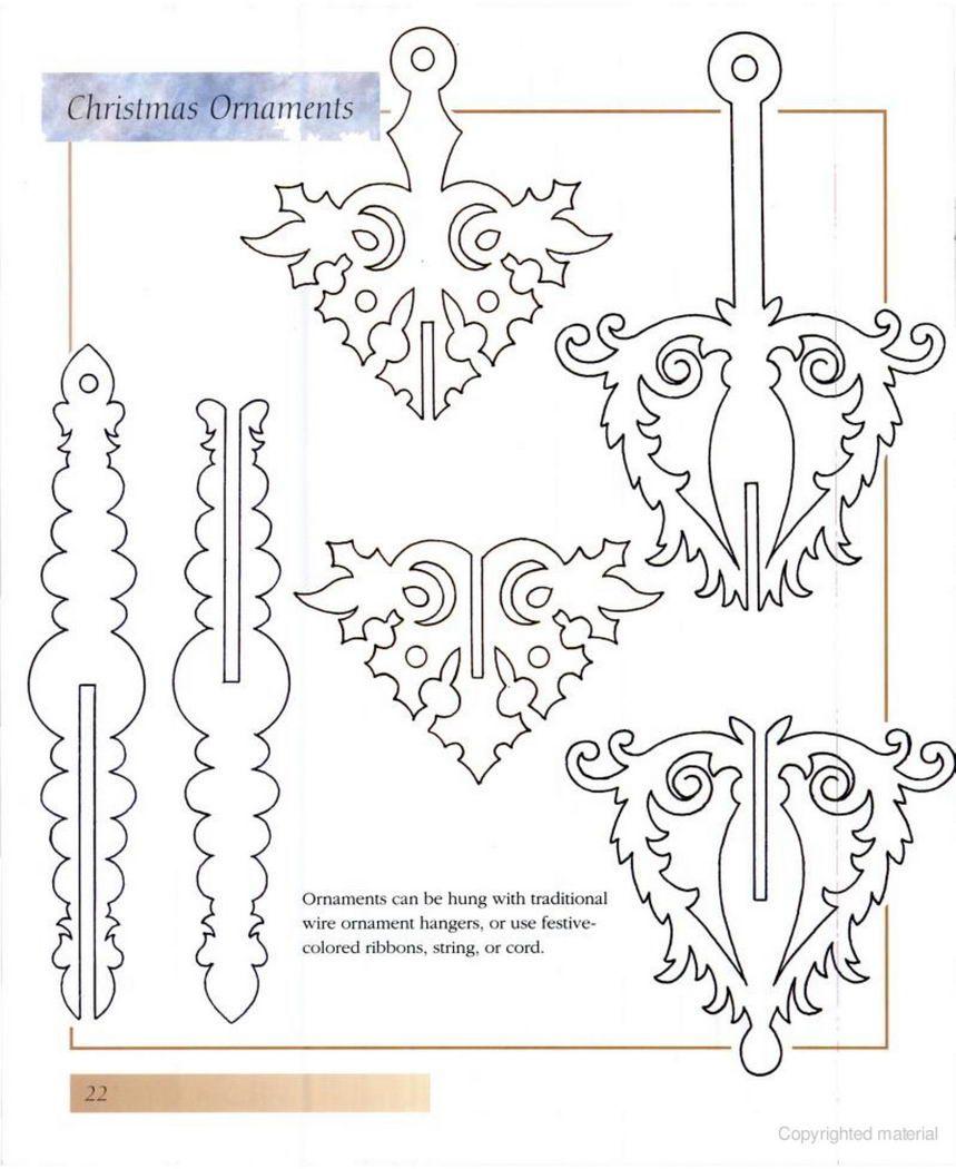 Woodtools Книги decorative u ornamental scroll saw patterns