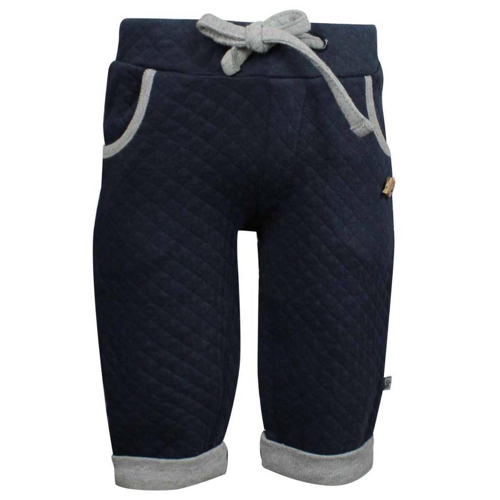 Ducky Beau sportieve broek Navy