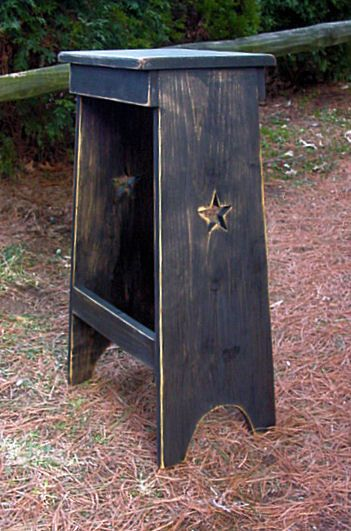 Country Bar Stool saw on similar in Country Sampler Mag.  I'm thinking I would leave out the star..  Because I have stars everywhere