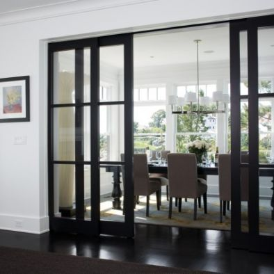 Dining Room Sliding Door Design Pictures Remodel Decor And Ideas