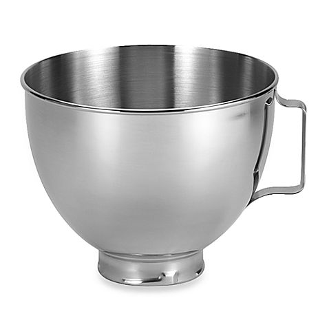 Kitchenaid 174 4 5 Quart Polished Stainless Steel Bowl With