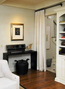 Doorway Curtain Design Ideas, Pictures, Remodel, and Decor