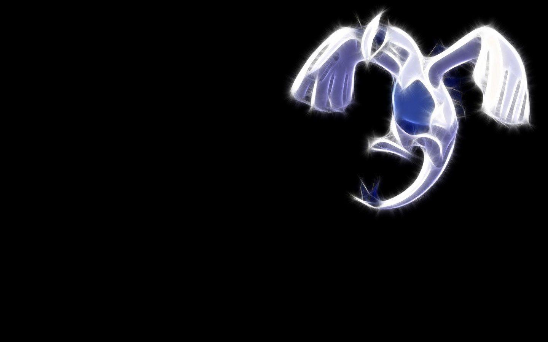 Lugia Desktop Black Hd Wallpaper Lugia Pokemon