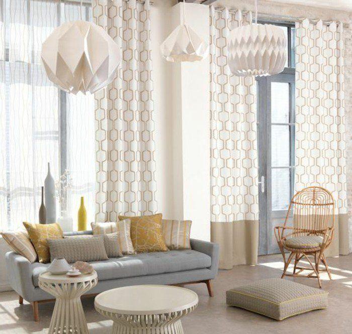 cool Déco Salon - interieur moderne salon de couleur grège Check