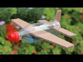 How To Make Flying Airplane Using Cardboard and Co