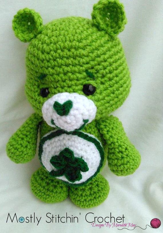 Care Bear Good Luck Bear Crochet Pattern Pdf Care Bears Pdf