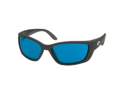 239d44eb7 Costa Del Mar Fisch Sunglasses - Black Frames - Blue Mirror COSTA 580 Lens  Costa Del Mar. $244.95