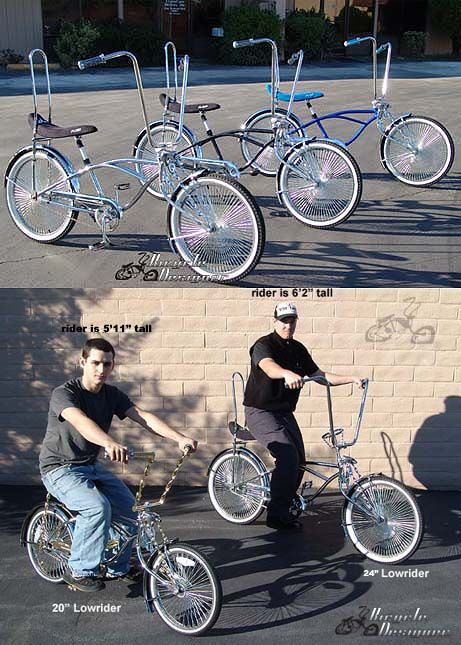 Stretch Lowrider Bicycle 24 Quot Frame And Wheels Lowrider