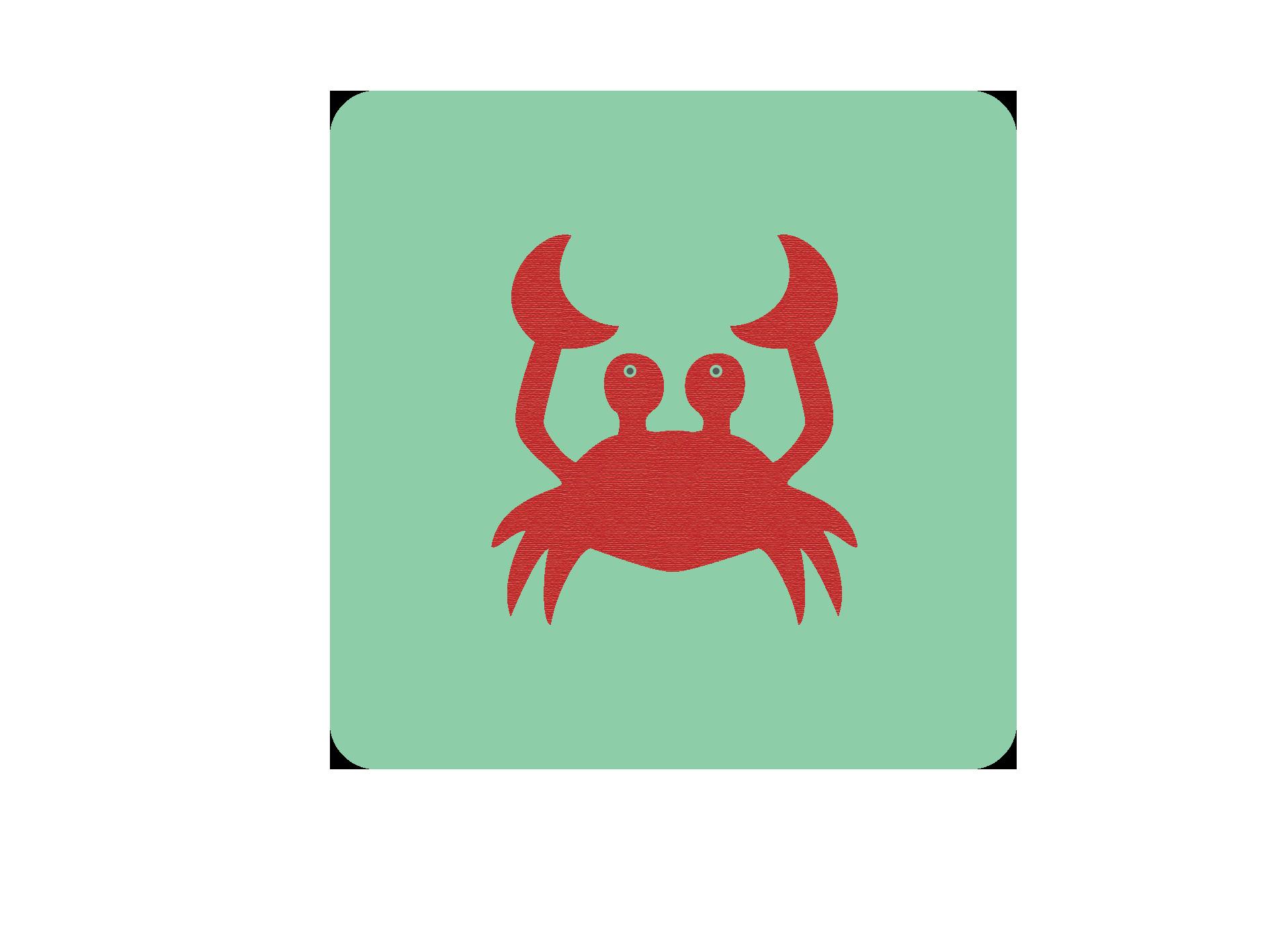 Création d'un crabe en Flat Design #celine #romeuf #design #crabe #crab #flat #cute