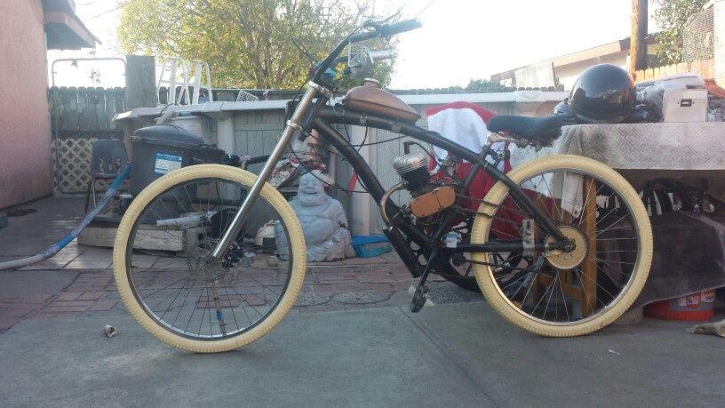 80cc motorized bike (the Ghost)