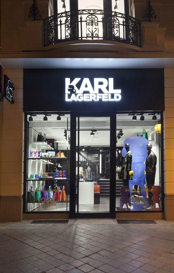 Karl Lagerfeld European Concept Store opened its doors in Brussels. We love !   WOW* Trend Magazine