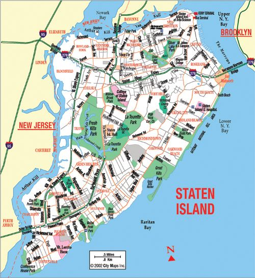 Staten Island Map Monika Is Going To Be Stationed On Staten Island 6 6 2013 Staten Island Is One Of The F Staten Island New York Staten Island Parks Ny Map