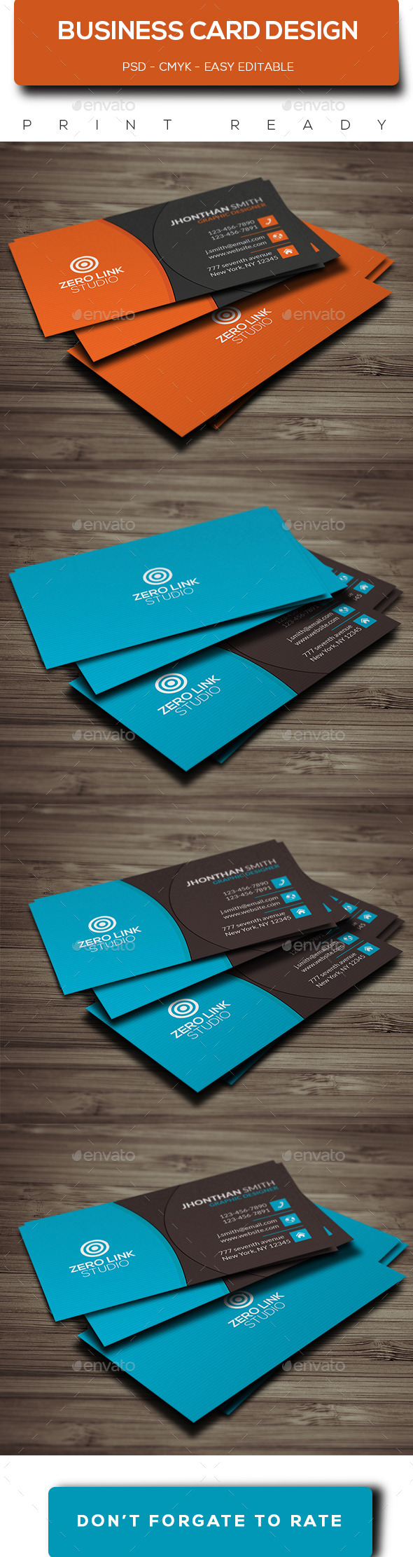 Corporate business card template design buy and download http corporate business card template design buy and download httpgraphicriver reheart Gallery