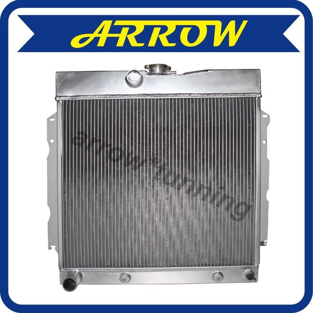 Aluminum Radiator for 1963-1969 PLYMOUTH VALIANT/STATION WAGON DODGE