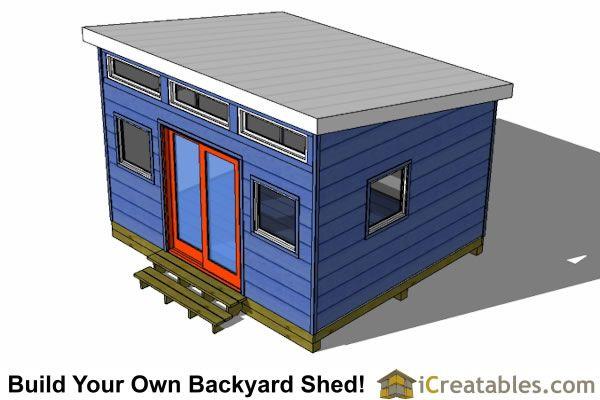 12x14 Modern Shed Plans Shed Plans Modern Shed Shed