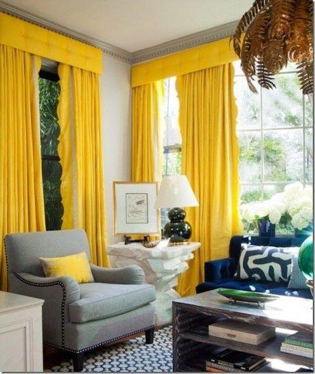 Arredare Casa Con Le Tende.Come Arredare Casa Con Il Giallo Spunti Di Stile Design