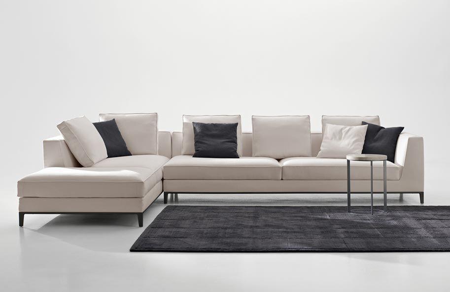 Lucrezia Maxalto Simplice Collection Sofa Furniture L Shaped Sofa