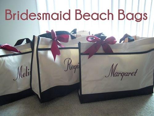 Beach Wedding Bridesmaid Gifts: Bridesmaid Gifts For A Beach Bachelorette Trip