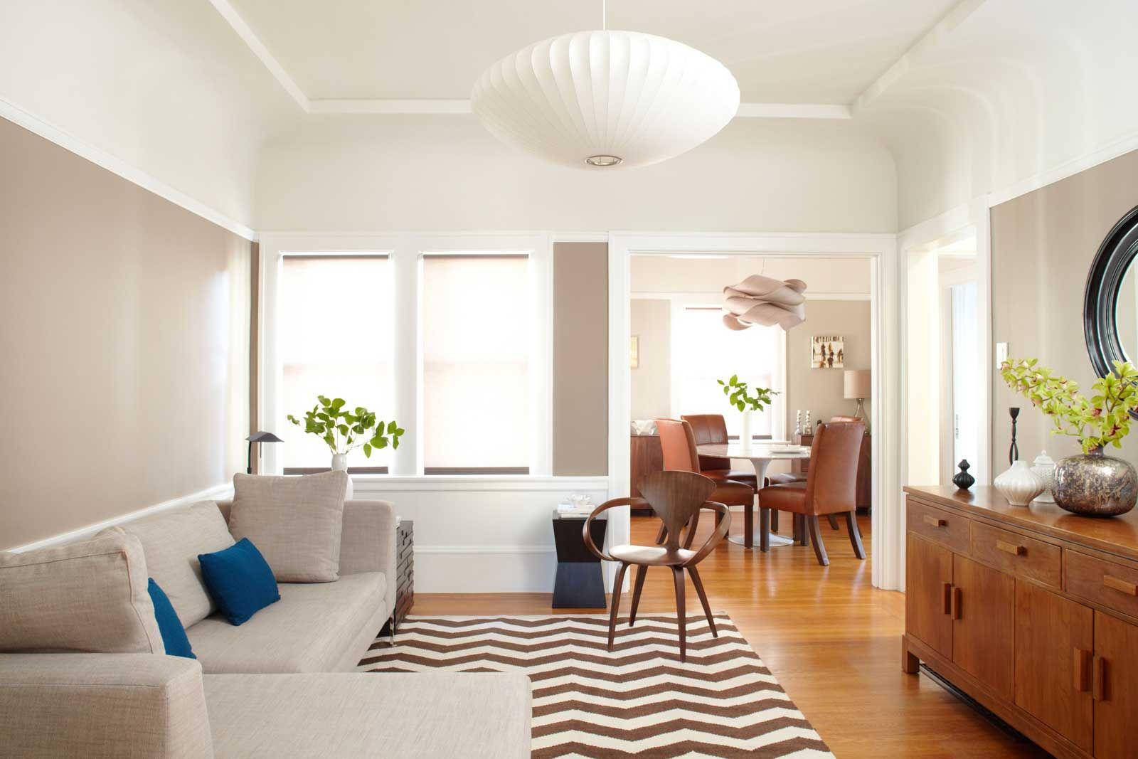 Modernsimplelivingroominteriordesignwithwhitelivingroom Impressive Living Room Wall Colors Review