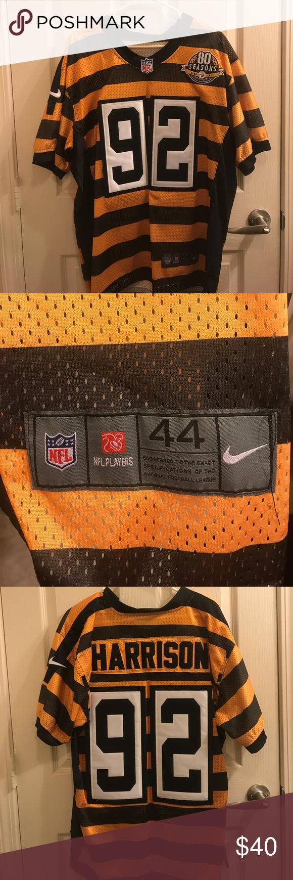 sale retailer b752a 3739b James Harrison Steelers Jersey Pittsburgh Steelers 80 ...