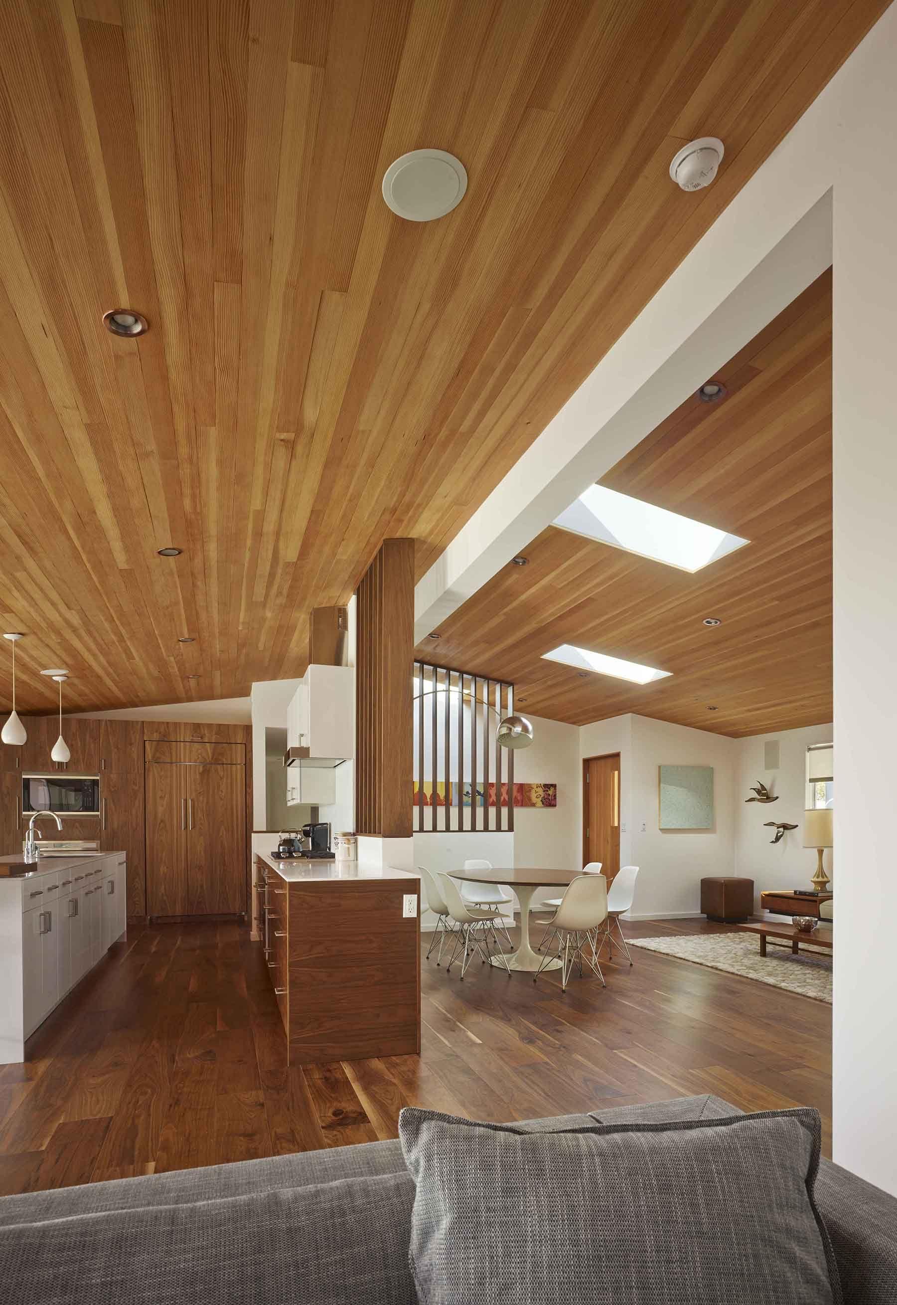 Ikea Kitchen With Semihandmade Flatsawn Walnut Fronts Custom Cabinet Doors House Ikea Kitchen