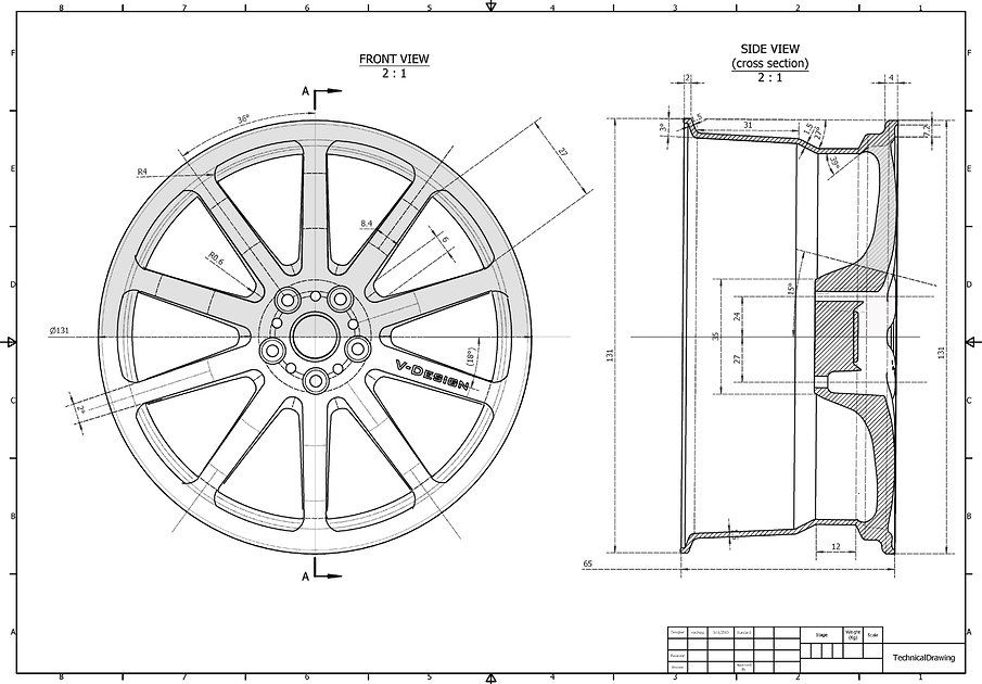 wheel blueprints