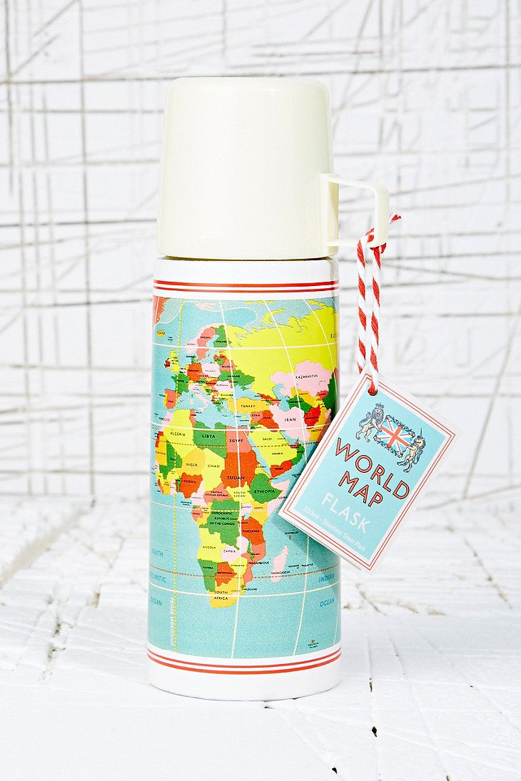 World Map Flask