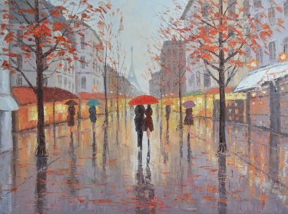 Little Street In Paris by Rimantas Virbickas