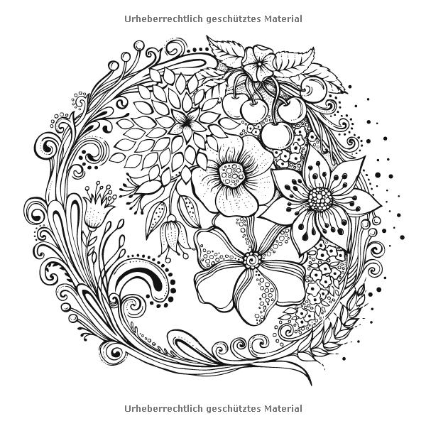 Mein Sommerspaziergang Ausmalen Und Durchatmen Amazon De Rita Berman Bucher Ausmalen Malvorlagen Blumen Muster Malvorlagen