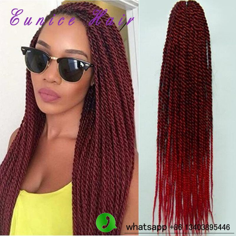 Eunice 22inch Crochet Braids Hair Extensions Synthetic Braiding Hair
