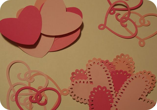 FHE Valentine garland