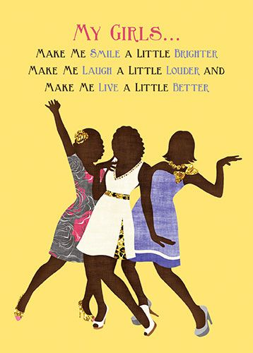 AOLJFS11 My Girls by African American Expressions | Sister