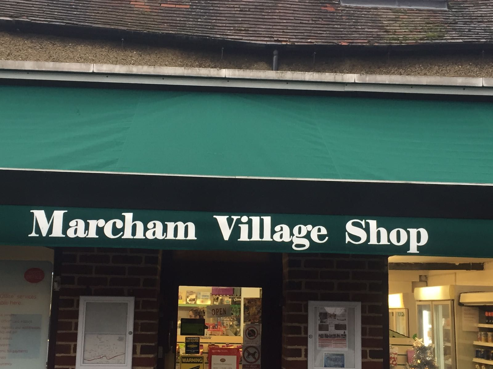 This Was A Huge Recover By Radiant Blinds Ltd For Marcham Village Shop In Oxfordshire Earlier Today At Nearly 9m Wide You Can Shop Awning Village Shop Blinds