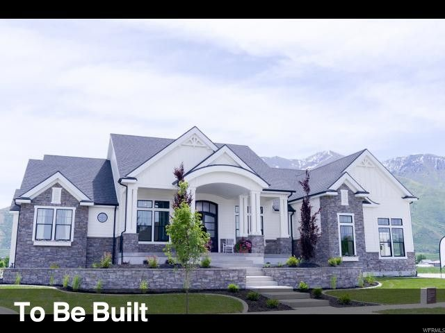 Utah County S Fastest Growing Home Builder Our Andrew Floor Plan Features The Best In Standard Options L House Exterior Modern Farmhouse Exterior Dream House